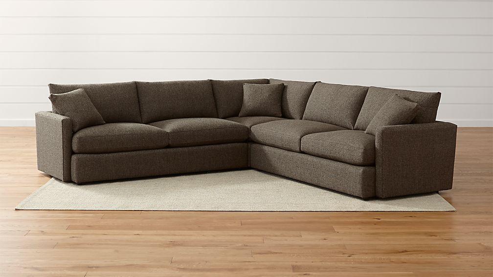Lounge II Petite 3-Piece Sectional Sofa