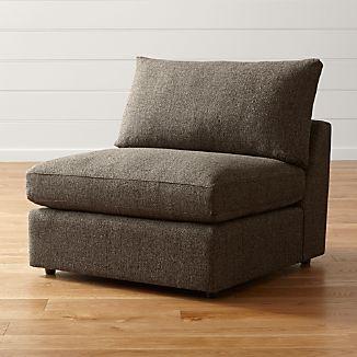 "Lounge II Petite 37"" Armless Chair"