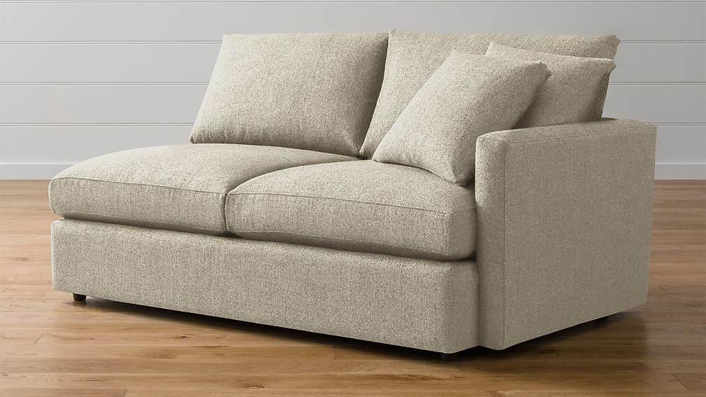 Lounge Ii Right Arm Apartment Sofa Reviews Crate And Barrel