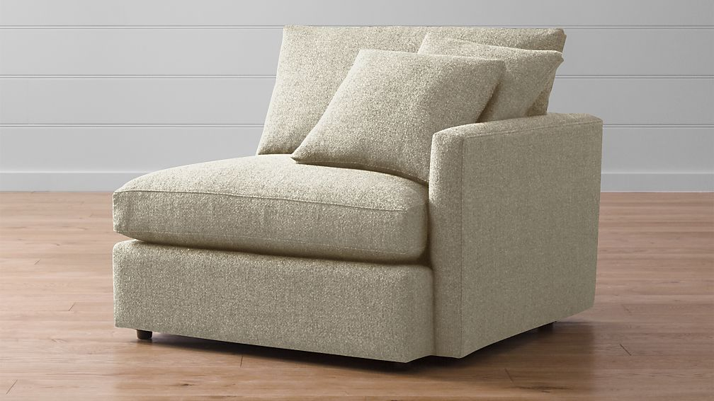 Lounge Ii Right Arm Chair Reviews Crate And Barrel