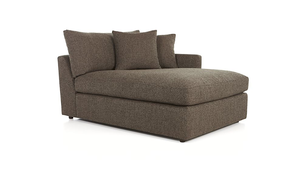 ... Lounge II Petite Right Arm Chaise  sc 1 st  Crate and Barrel : right arm chaise - Sectionals, Sofas & Couches