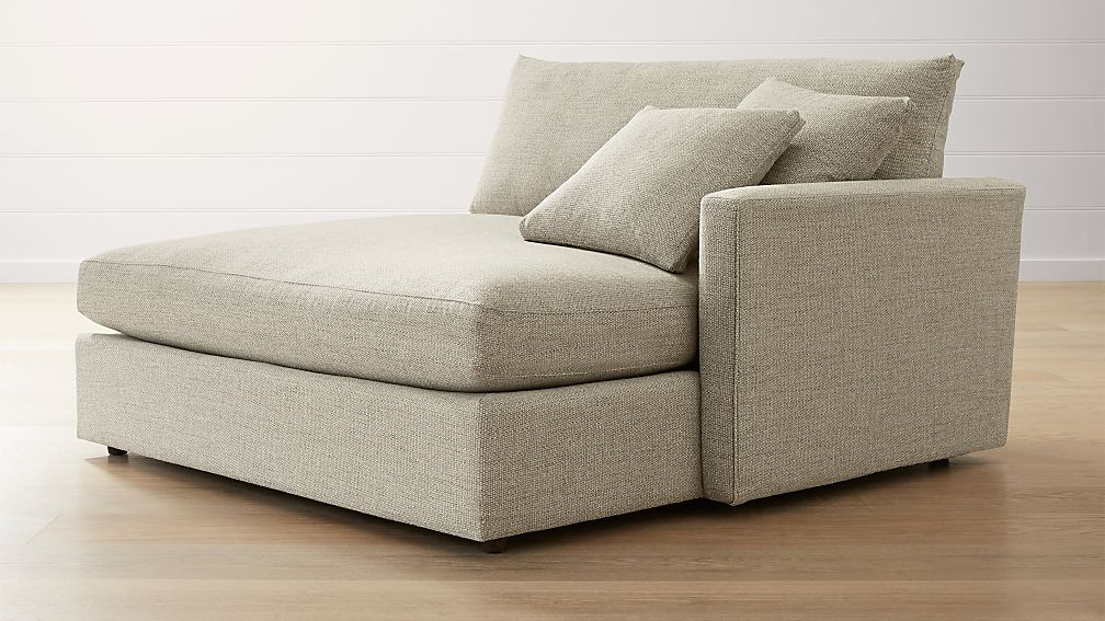 Lounge II Right Arm Double Chaise ... : double chaise chair - Sectionals, Sofas & Couches