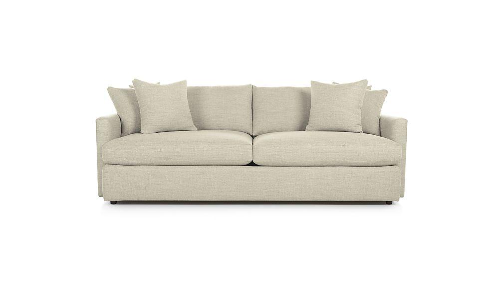 Lounge Ii Petite 93 Quot Sofa Reviews Crate And Barrel