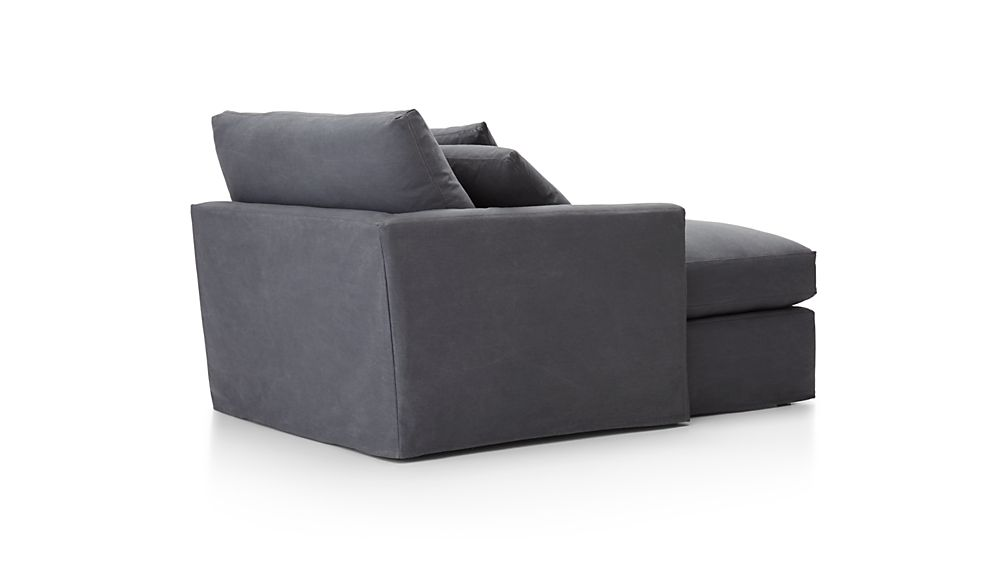 Lounge II Slipcovered Left Arm Chaise
