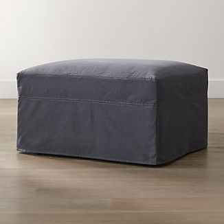 """Slipcover Only for Lounge II Petite 32"""" Ottoman"""