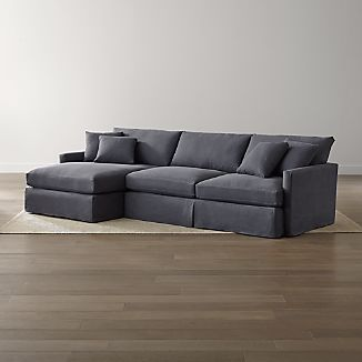 Lounge II Slipcovered 2-Piece Sectional Sofa