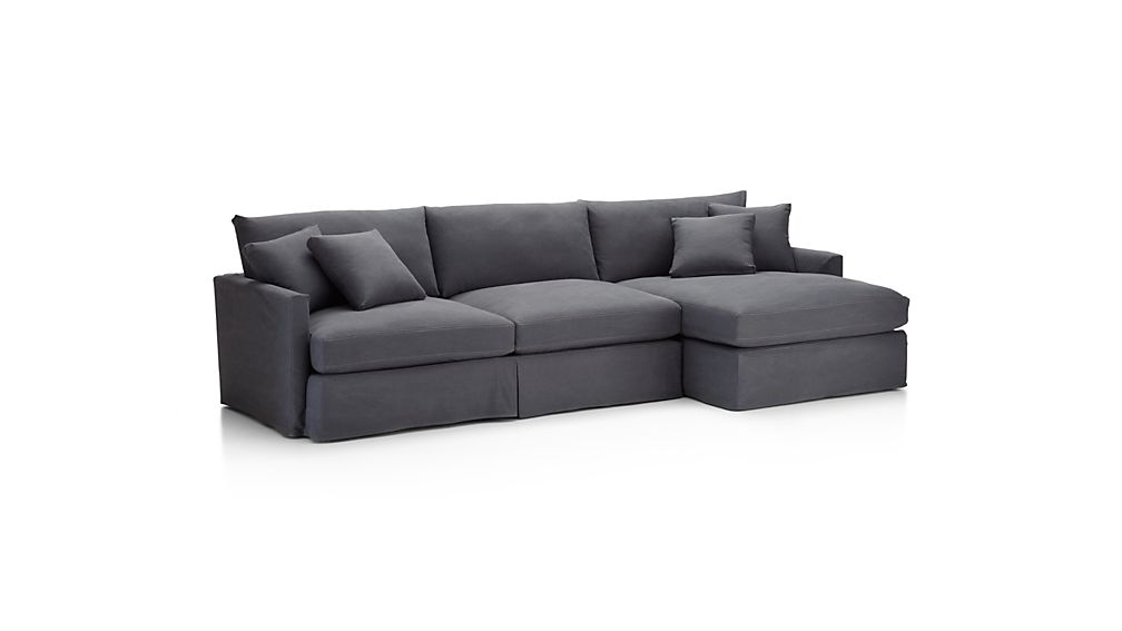 Slipcover Only for Lounge II Armless Loveseat