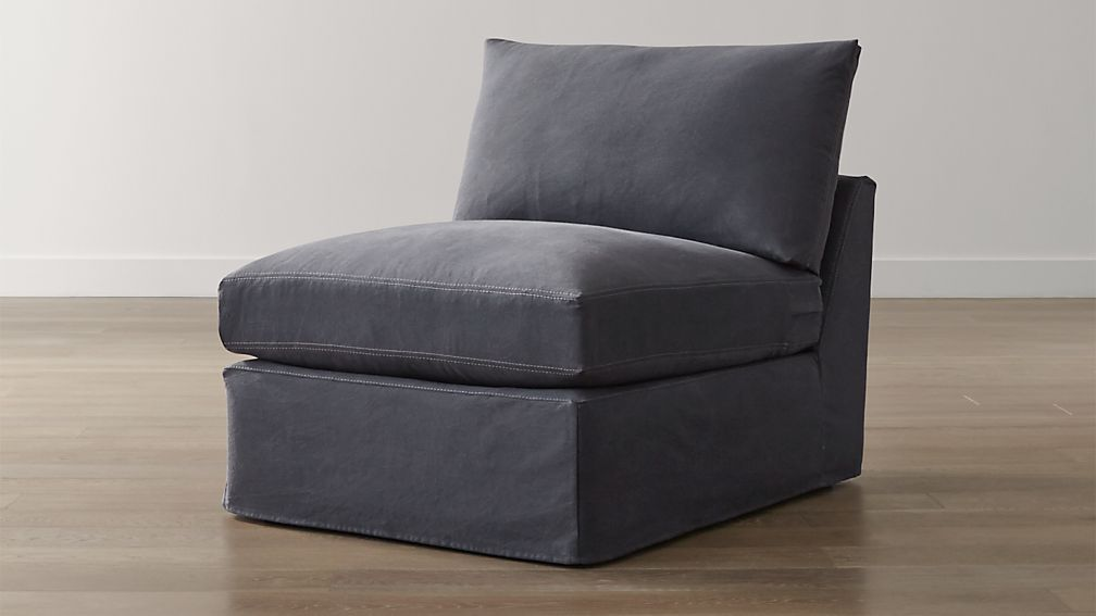 """Slipcover Only for Lounge II 32"""" Armless Chair"""