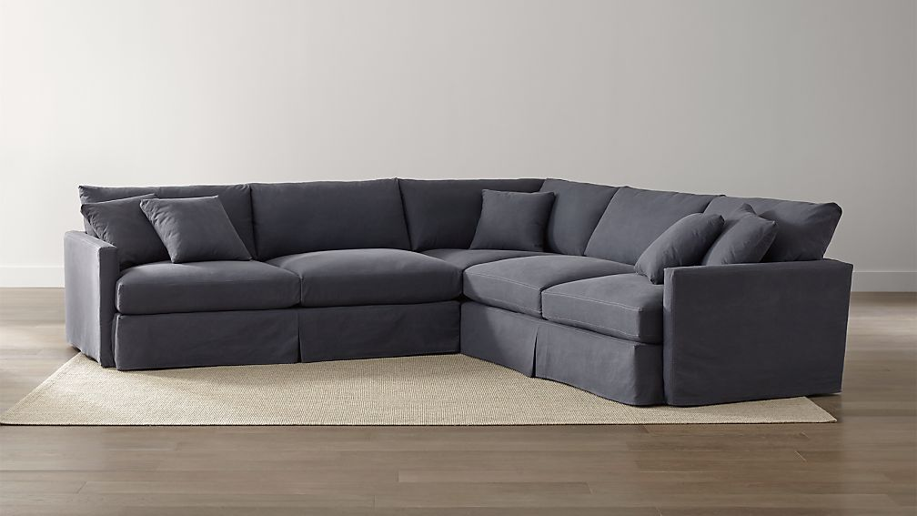 Crate And Barrel Lounge Slipcovered Sofa Reviews Infosofaco