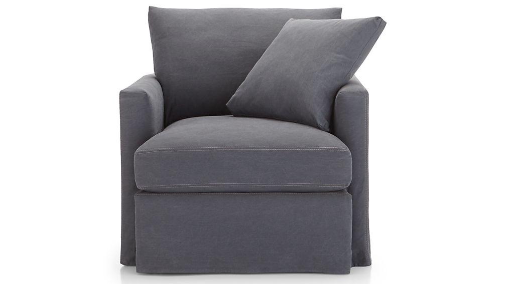 Lounge II Slipcovered Chair