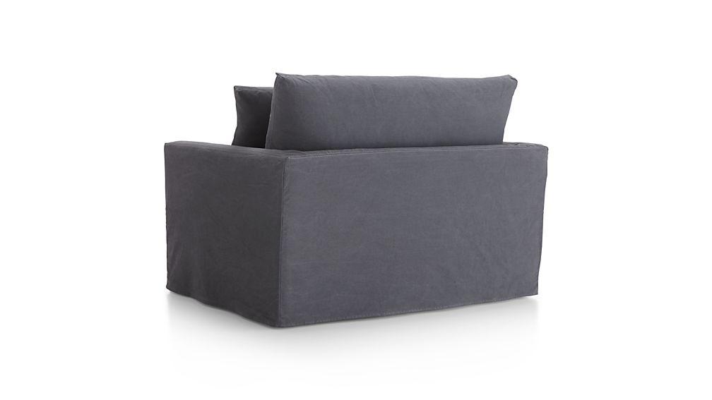 Lounge II Slipcovered Chair and a Half