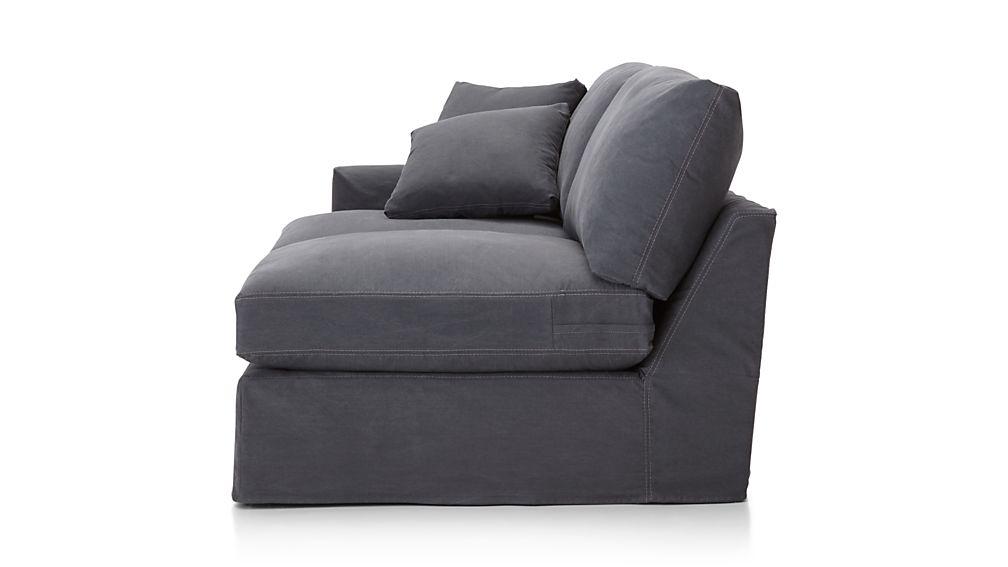 Lounge II Slipcovered Left Arm Sofa