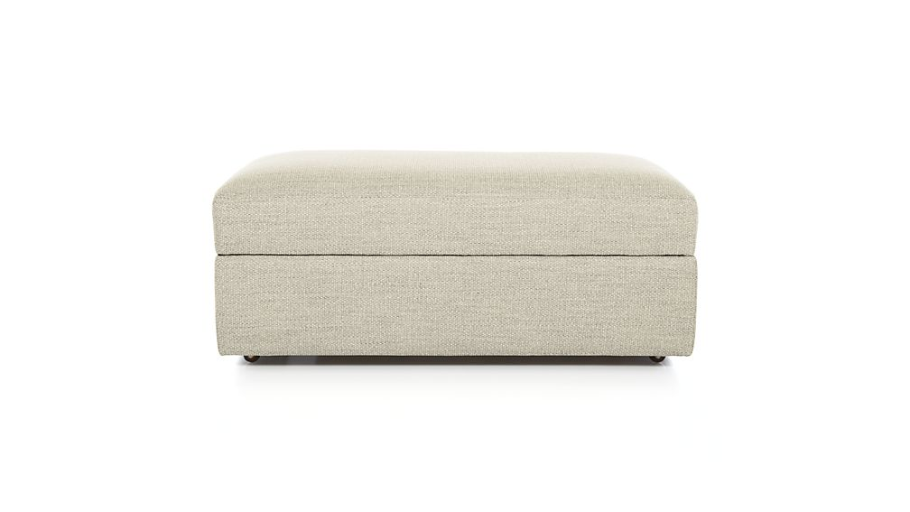 Delightful ... Lounge II Storage Ottoman With Casters ...