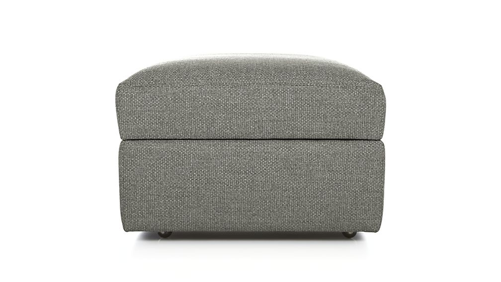 Lounge Ii Caster Storage Ottoman Crate And Barrel