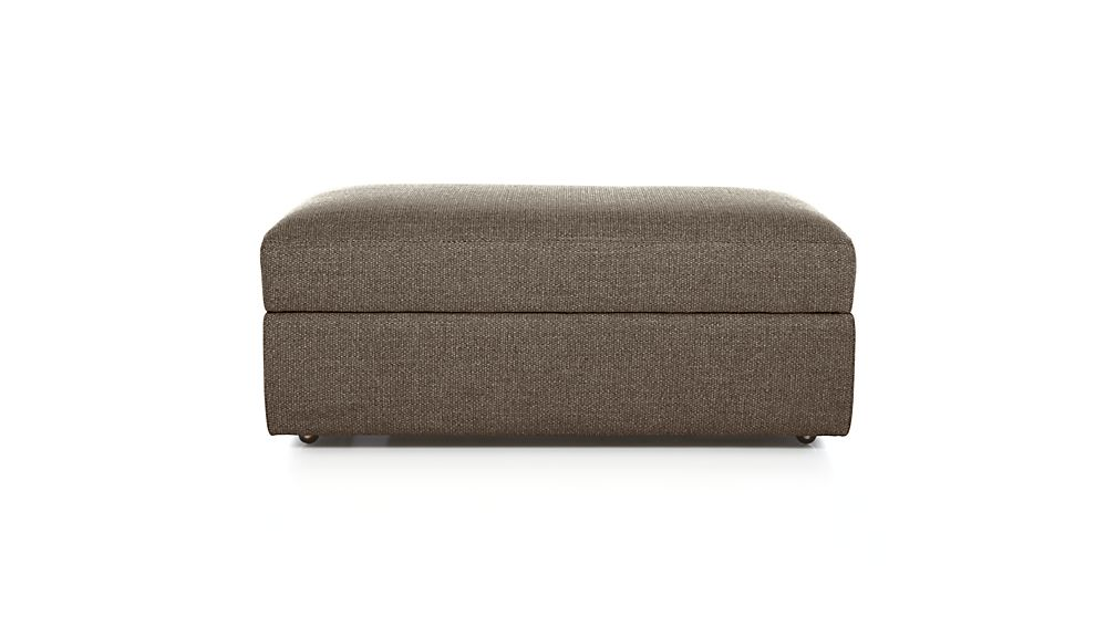 Exceptional ... Lounge II Storage Ottoman With Casters ...