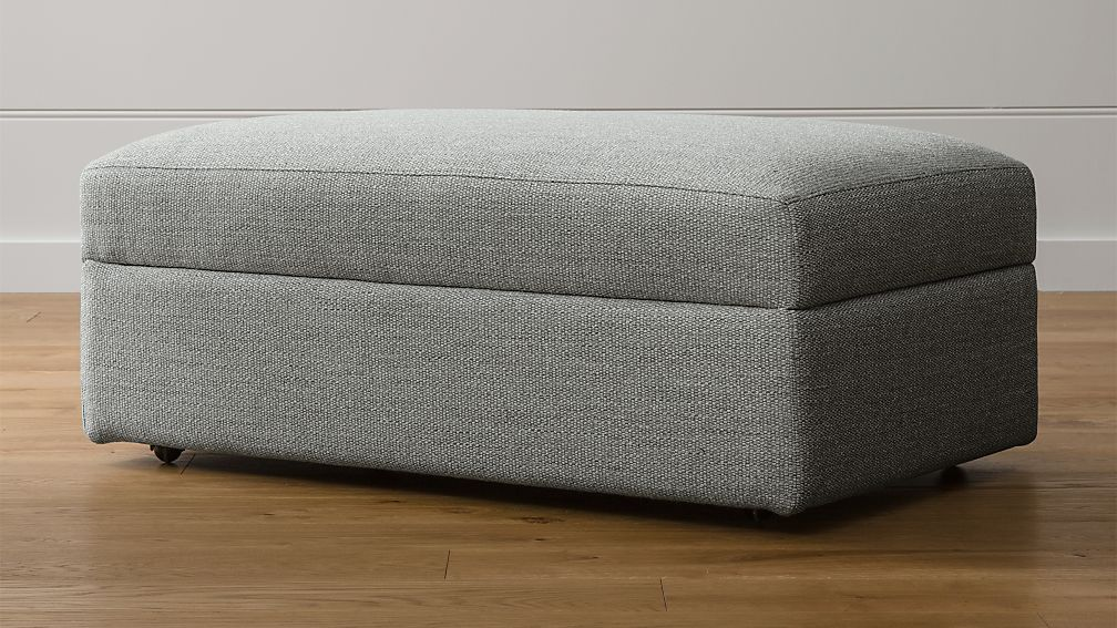 Lounge II Storage Ottoman With Casters ...