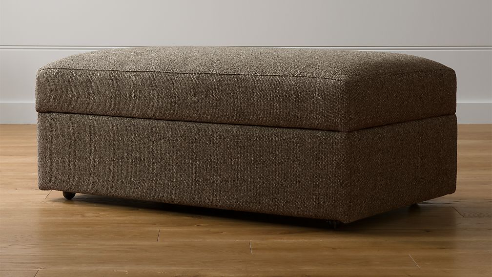 Lounge Ii Petite Ottoman And A Half With Casters Reviews