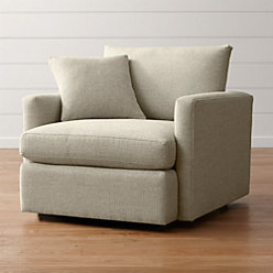 Lounge Ii Ottoman For Couch Reviews Crate And Barrel