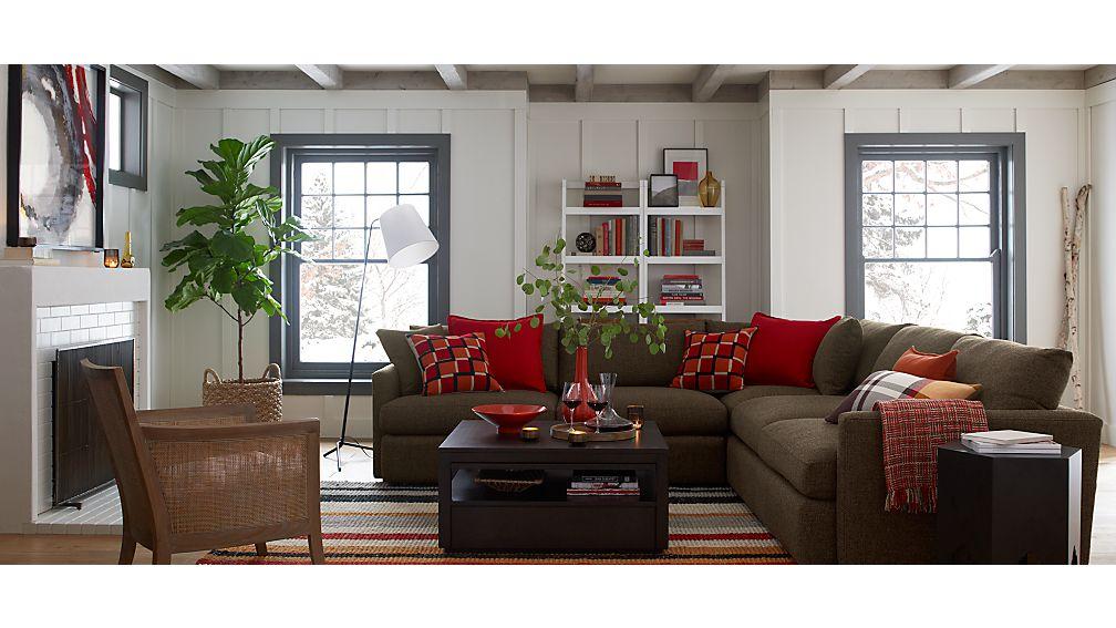 Lounge II 3-Piece Sectional Sofa