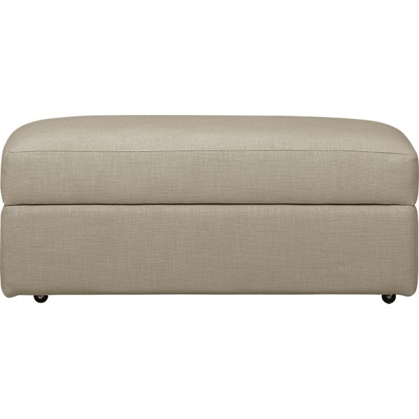Lounge Storage Ottoman with Casters