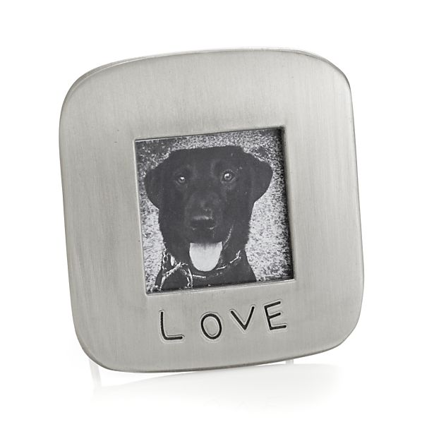 "Love 1.75"" Square Picture Frame"