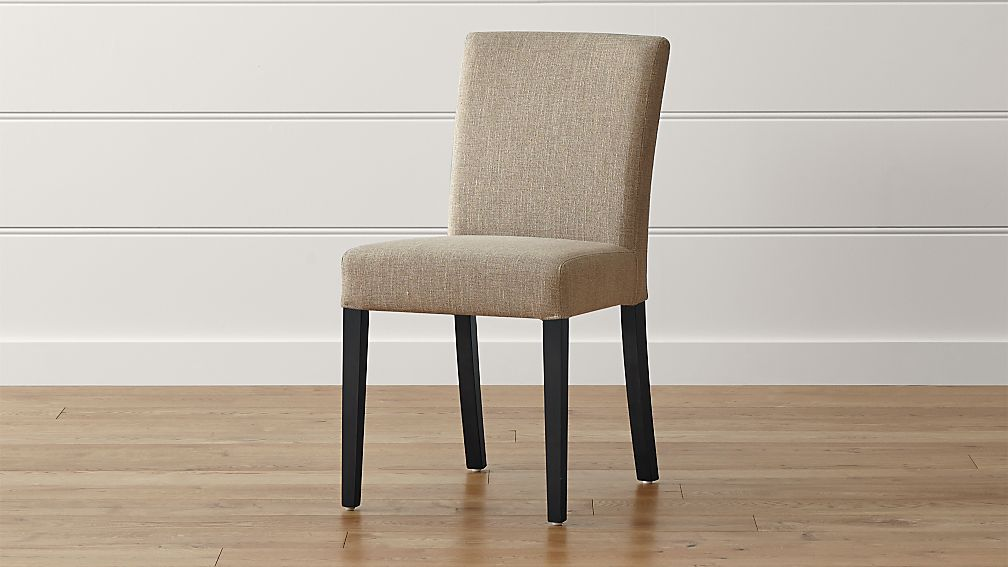 Lowe Khaki Upholstered Dining Chair - Image 1 of 5