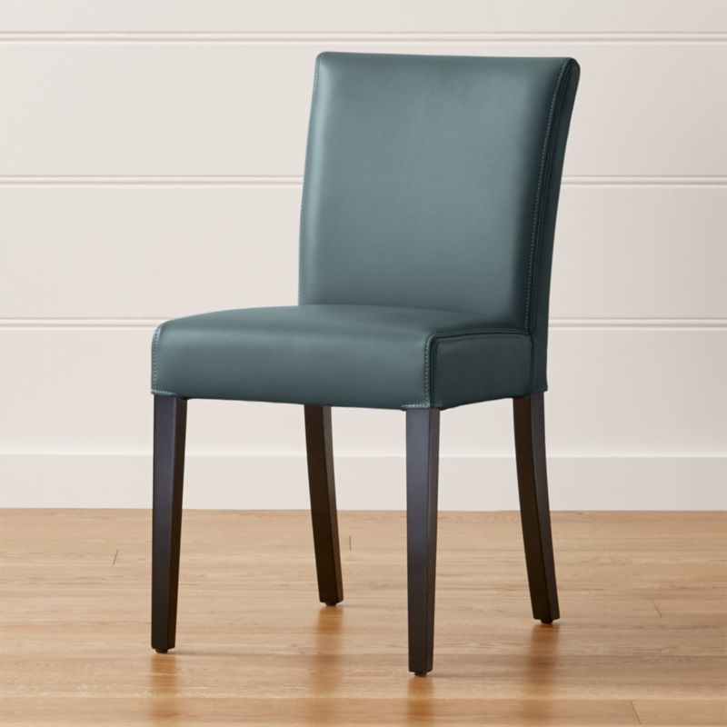 Lowe Ocean Leather Dining Chair Reviews Crate And Barrel