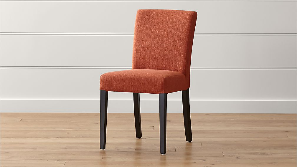 Lowe Persimmon Upholstered Dining Chair Reviews Crate