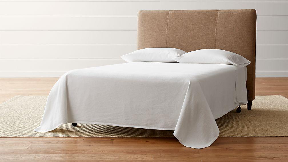 Lowe Khaki Upholstered Full Headboard