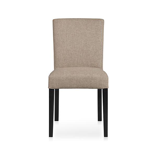 Lowe Khaki Fabric Side Chair