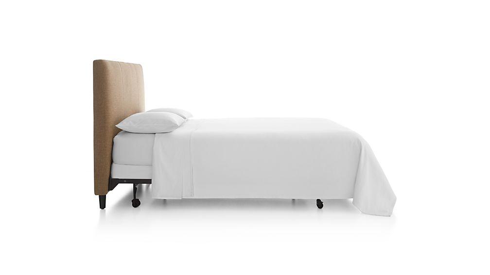 Lowe Khaki Upholstered King Headboard