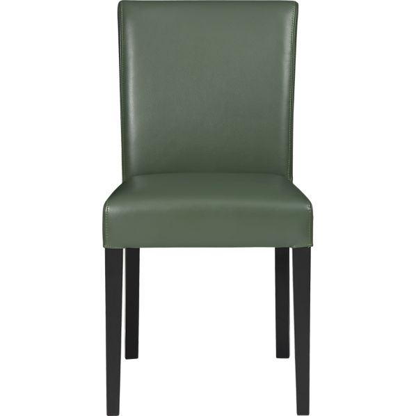 Lowe Fern Leather Side Chair