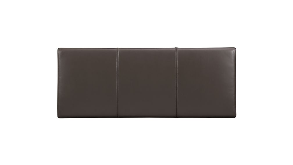 Lowe Smoke Leather Bench