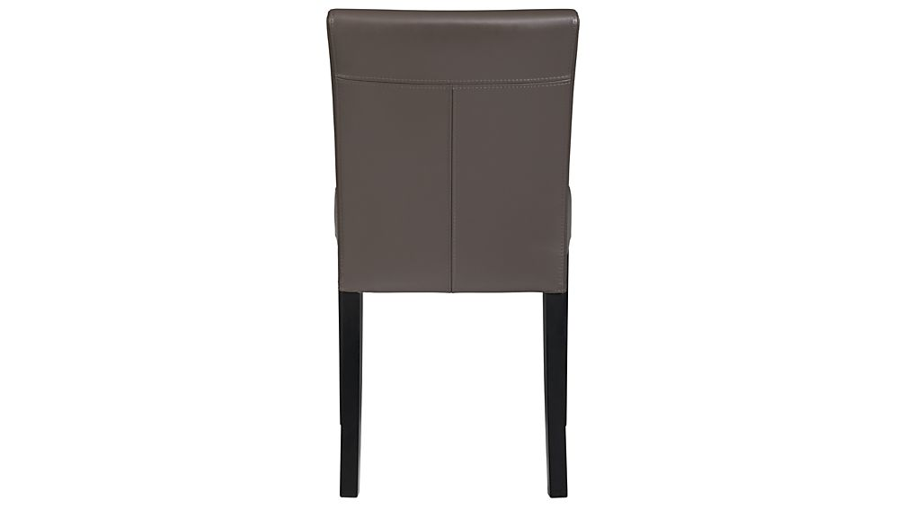 Lowe Smoke Leather Dining Chair