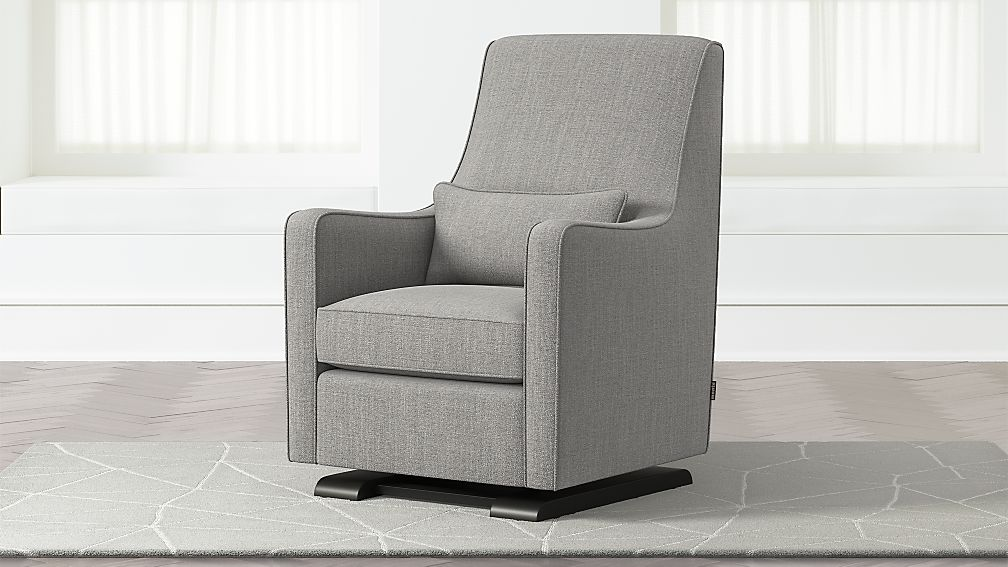 Luca Modern Glider Reviews Crate And Barrel