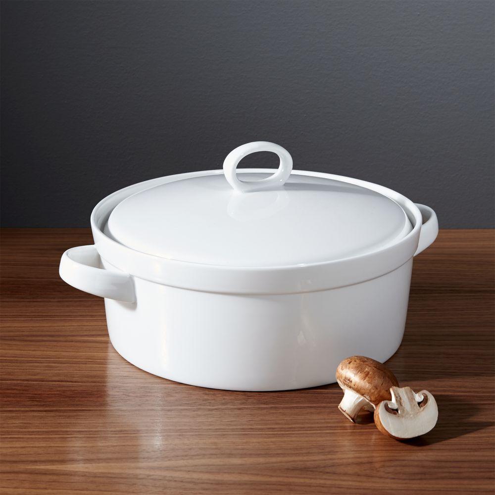 Lucerne 3-Quart Casserole Dish - Crate and Barrel