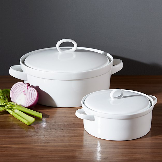 Lucerne Casserole Dishes Crate And Barrel