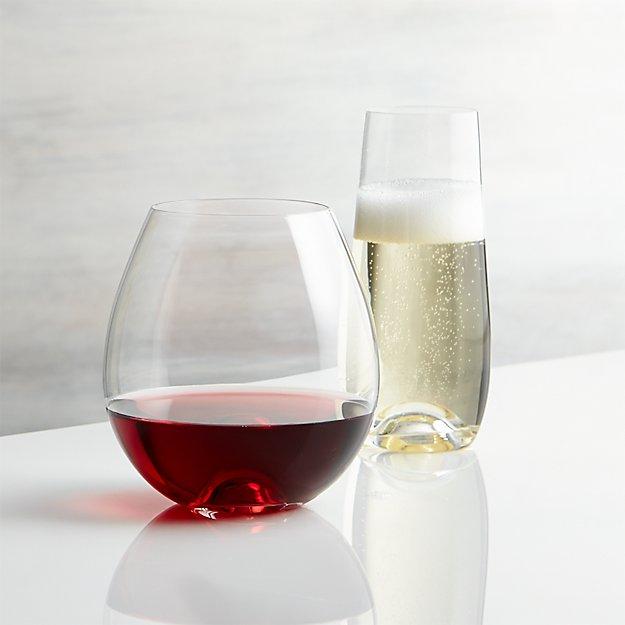 Lulie Stemless Wine Glasses
