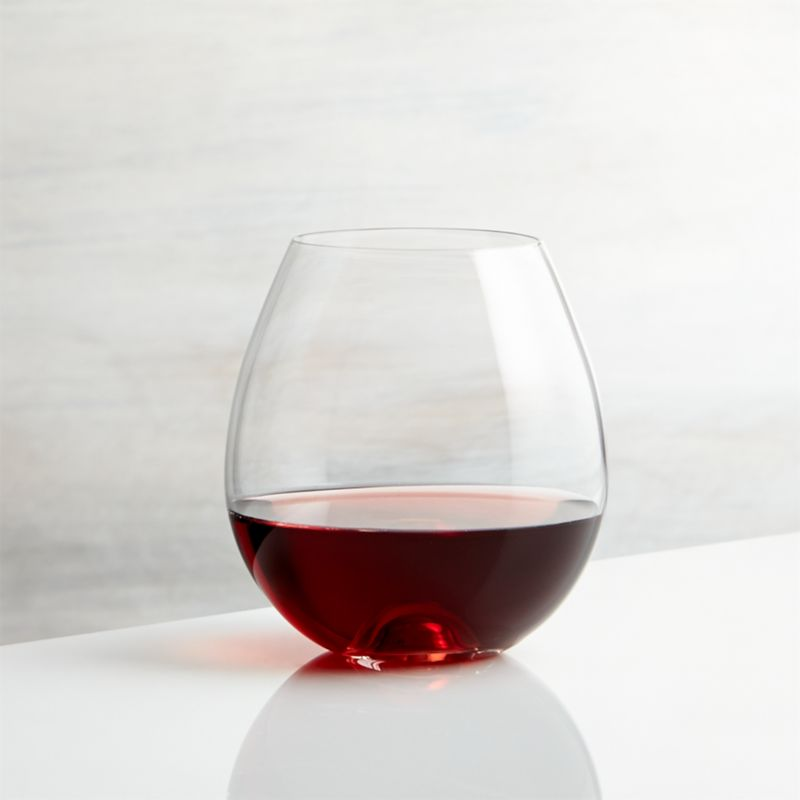 Lulie Stemless Wine Glass Reviews Crate And Barrel