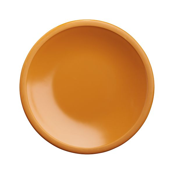 "Lunea Melamine Orange 6"" Appetizer Plate"