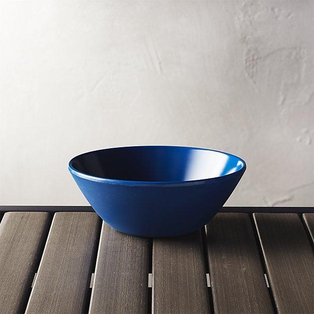 Lunea Melamine Indigo Bowl - Image 1 of 6