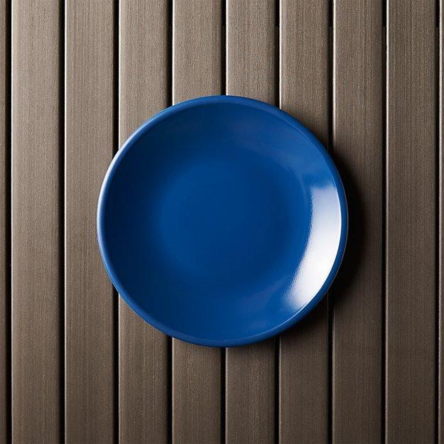 Lunea Melamine Indigo Salad Plate - Image 1 of 7