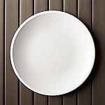 Lunea Melamine White 10.5  Dinner Plate