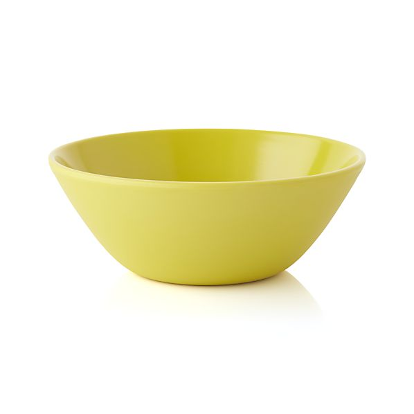 Lunea Melamine Yellow Bowl