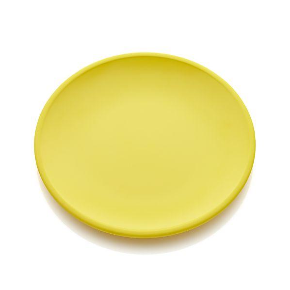 Lunea Melamine Yellow Dinner Plate