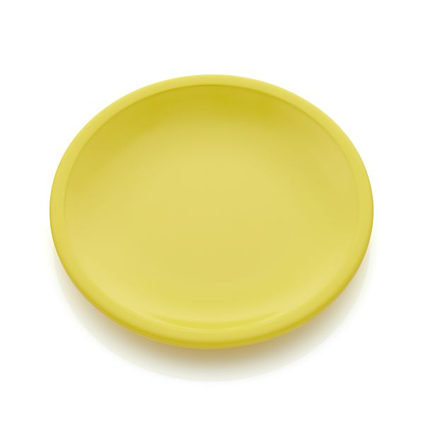 Lunea Melamine Yellow Appetizer Plate