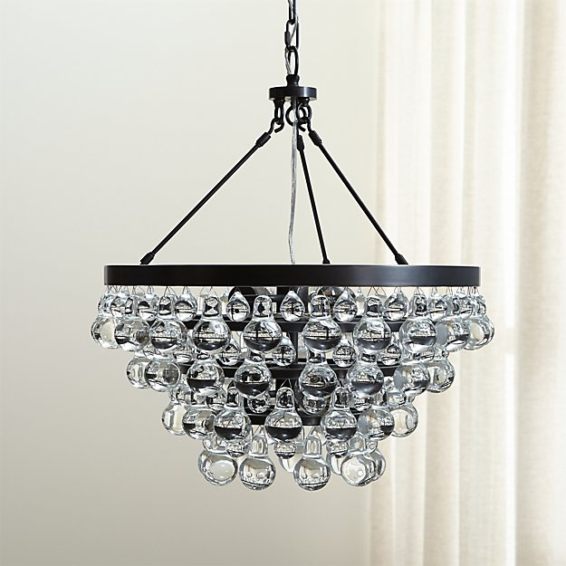 Robert abbey bling chandelier reviews crate and barrel mozeypictures Gallery