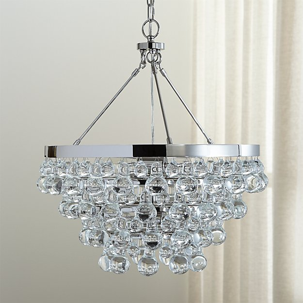 Lure polished nickel chandelier reviews crate and barrel aloadofball Choice Image