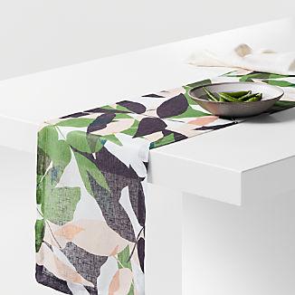 Lush Linen Table Runner