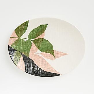 Lush Oval Platter